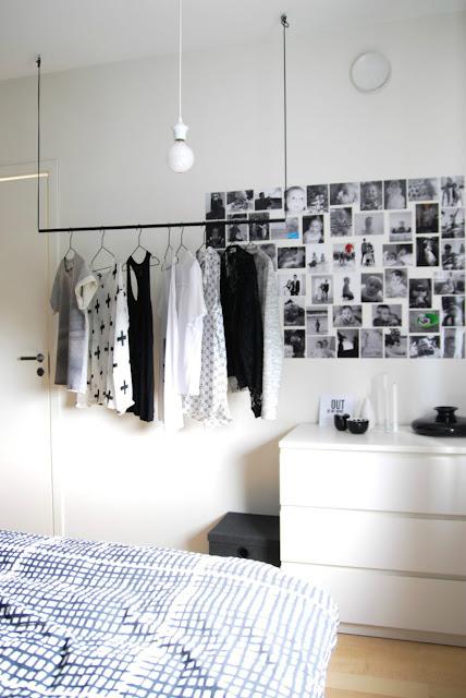ไอเดียเก็บเสื้อผ้าในห้องขนาดเล็ก