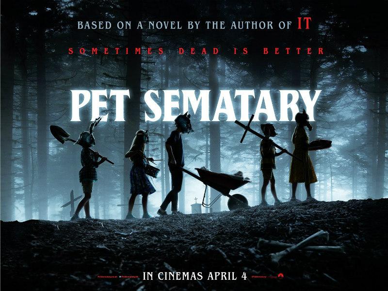 pet sematary 2019 poster