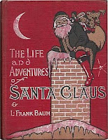 The Life and Adventures of Santa Claus by L. Frank Baum book cover and review