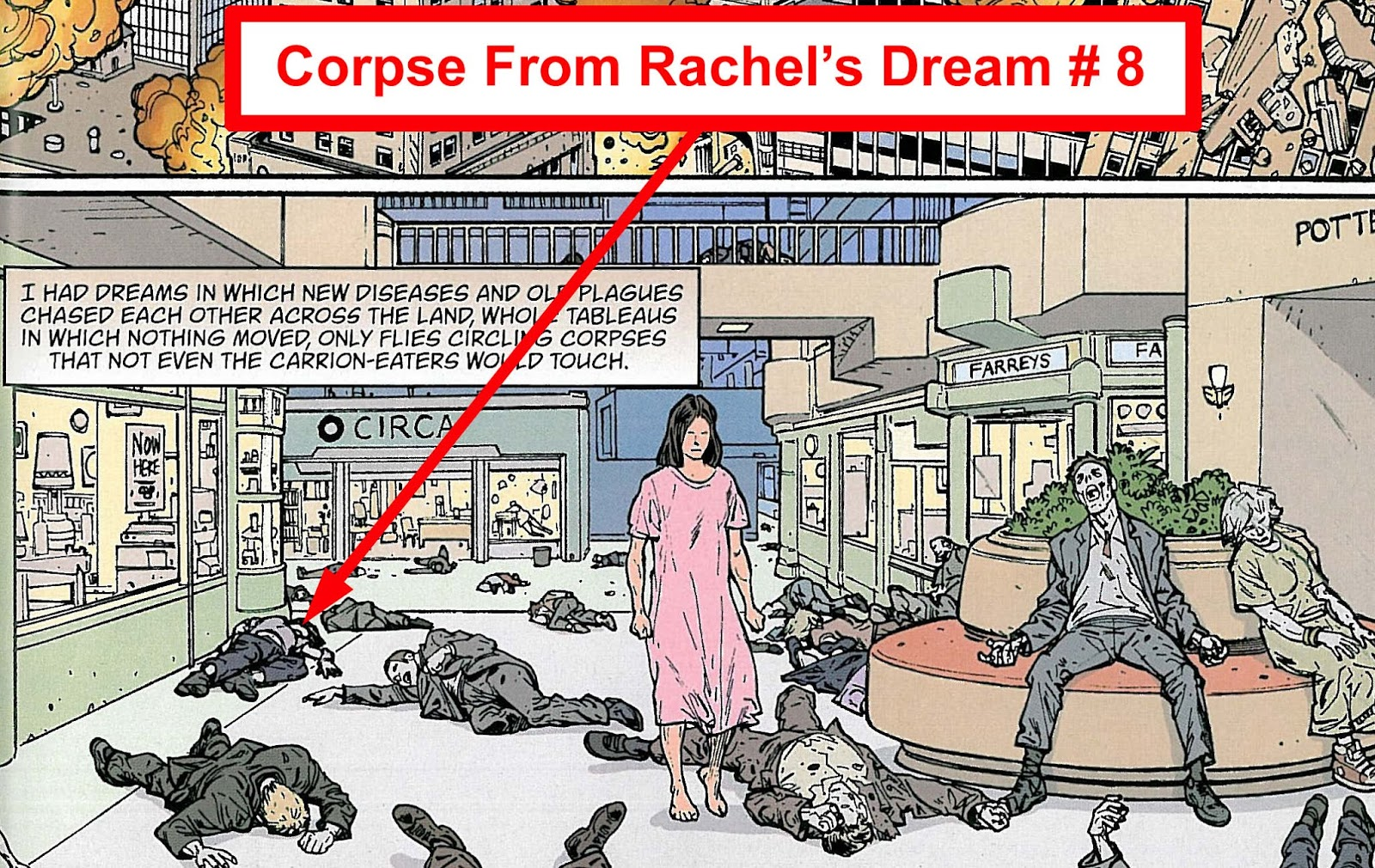 What do the corpses dream about 73