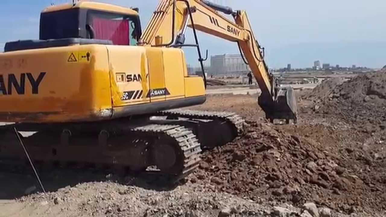 Sany Excavator: February 2017