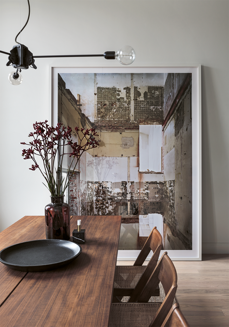 Art on the floor | Photo by Erik Lefvander via Residence