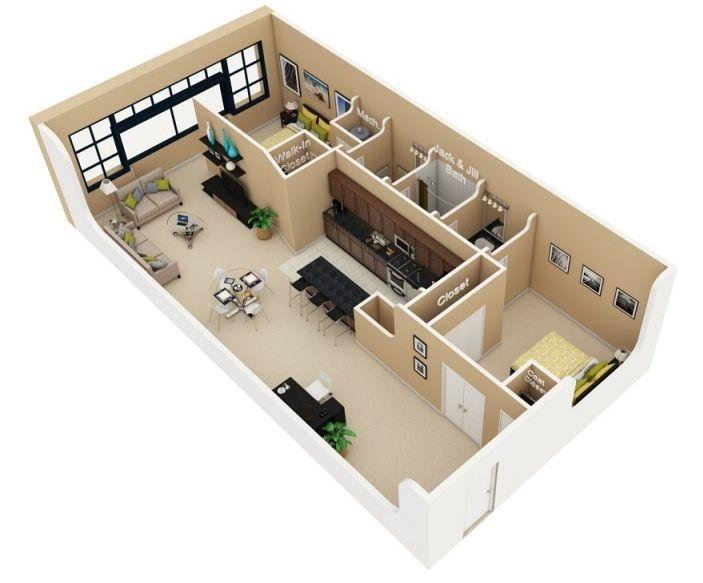 Custom%2BStylish%2BModern%2BHouse%2B3D%2BFloor%2BPlans%2B%2B%25285%2529 Customized Trendy Trendy Space 3-D Ground Plans Interior