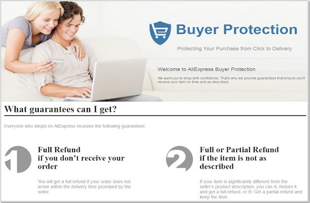 ALIEXPRESS BUYER PROTECTION TIPS