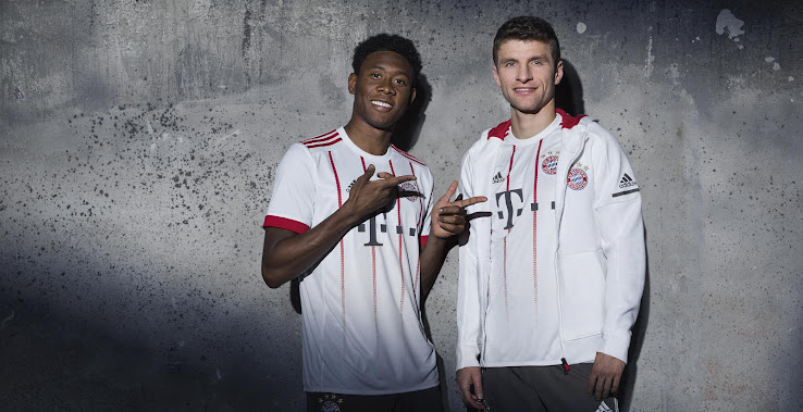 cheap for discount 0fcc7 555e6 Official: Bayern Munich 17-18 Third Kit Released - Footy ...