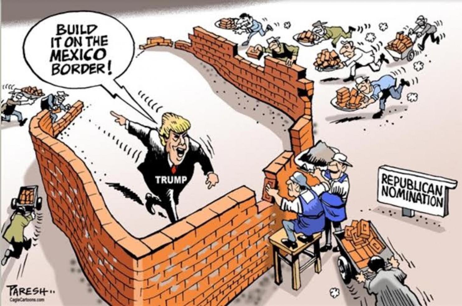 Build A Wall Around Trump