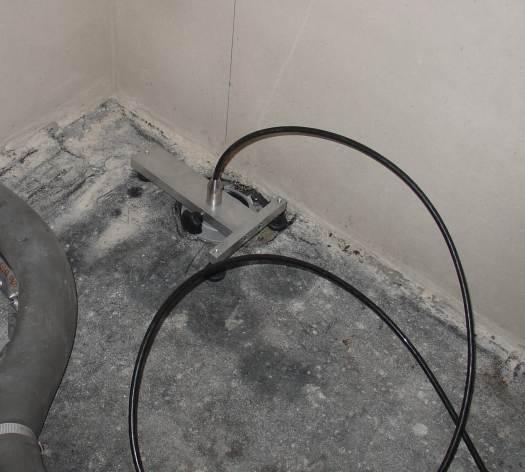 ich baue ein haus bautagebuch dichtheitspr fung der abwasserleitung. Black Bedroom Furniture Sets. Home Design Ideas