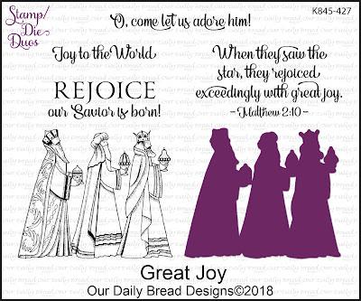 Stamp/Die Duos: Great Joy