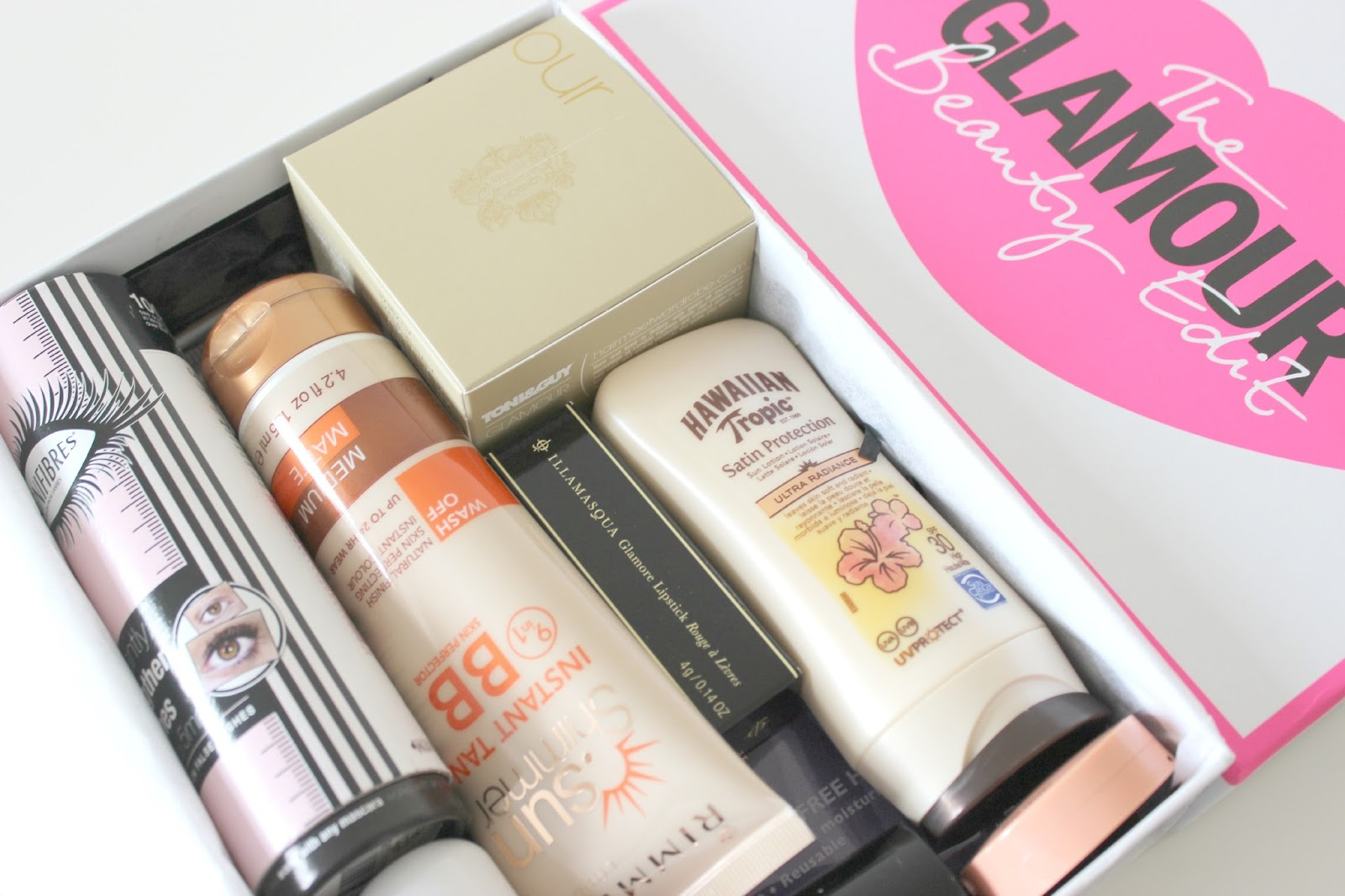 A picture of Latest in Beauty The Glamour Beauty Edit Box