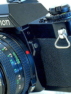 Canon AV-1, Backlight Compensation, battery Check