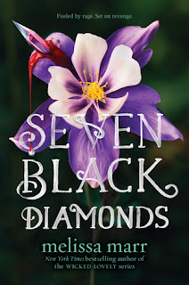 Young Adult fantasy novel by Melissa Marr, Seven Black Diamons.