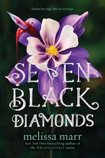 Young Adult fantasy novel by Melissa Marr, Seven Black Diamons.