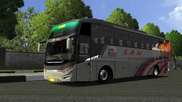 Mod bus SanLiner ETS2 By BSW Edit JDE Team