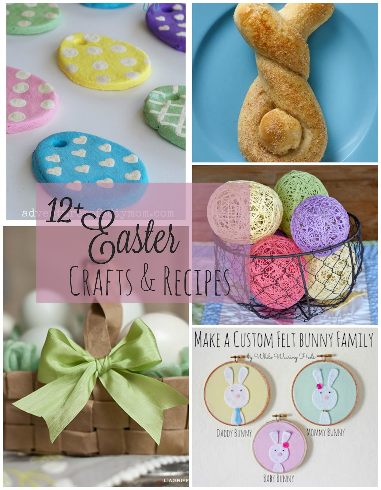 12 Easter Crafts And Recipes Adventures Of A Diy Mom
