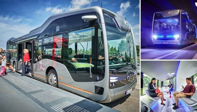 Το αυτόνομο λεωφορείο της Mercedes-Benz έκανε το παρθενικό του δρομολόγιο στο Άμστερνταμ