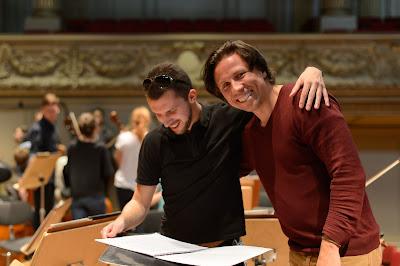 Gedminas Gelgotas and Kristjan Järvi at Zurich Tonhalle