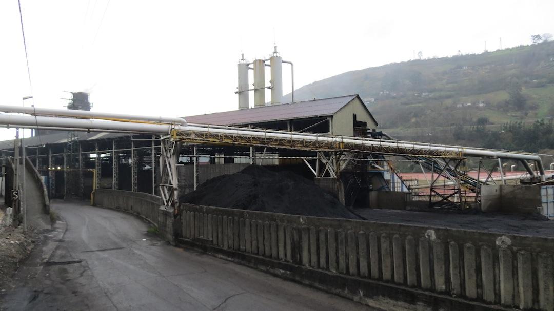 Instalaciones de Profusa en el momento del cese de su actividad, en enero de 2013
