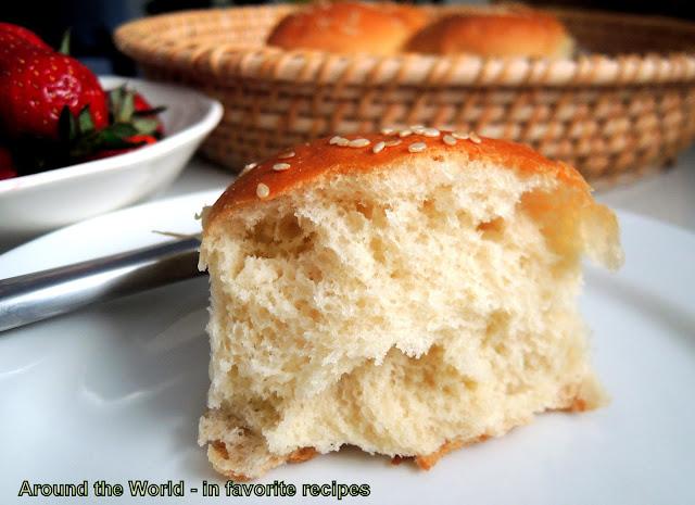 TangZhong Bread (Rolls)