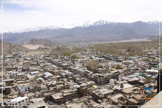 Cidade de Leh - ladakh - Índia