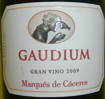 Gaudium Tinto Reserva 2009, Bodegas Marqués de Cáceres