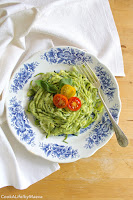 http://cookalifebymaevaen.blogspot.com/2016/08/zoodles-zucchini-noodles-avocado-pesto-cherry-tomatoes.html