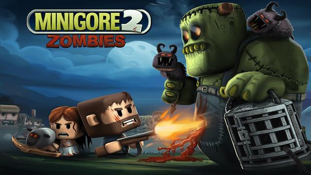 Minigore 2: Zombies v1.21 Apk Mod [Dinero / Munición]