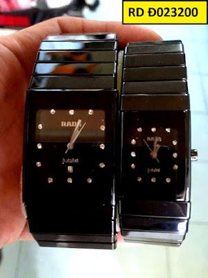 Đồng hồ mặt vuông Rado RD Đ023200