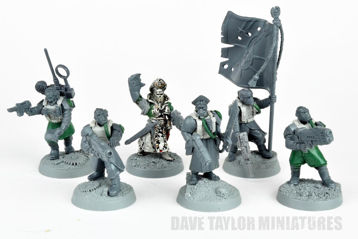 davetaylorminiatures: Steel Legion Command HQ - Heroes of ...