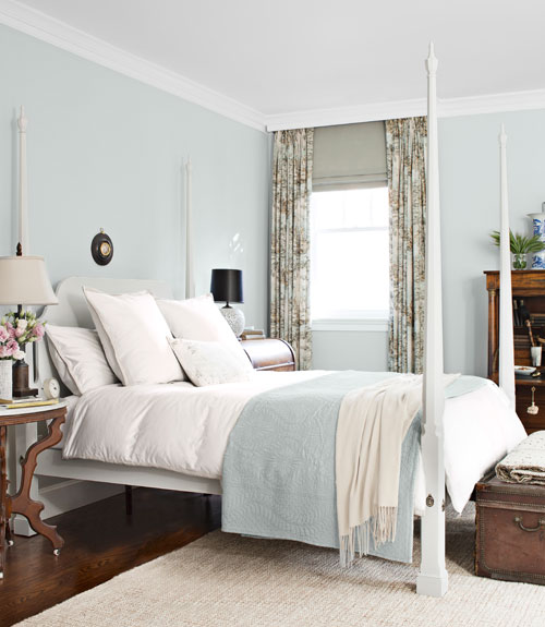 Country Bedroom Color Schemes: House Beautiful's 2012 Color Report