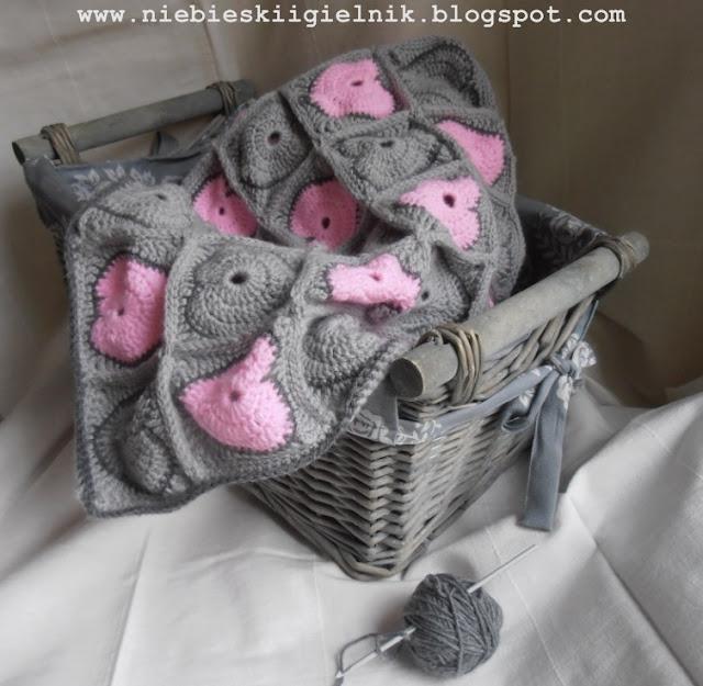 Tığ İşi Bebek Battaniyesi