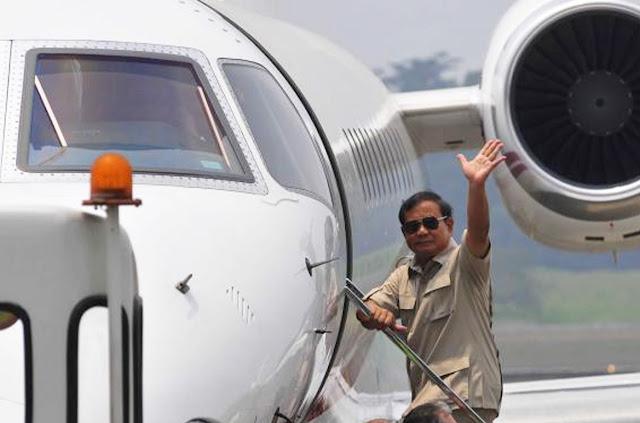 Ini Penjelasan AP II Kualanamu terkait Informasi Pesawat Prabowo tak Dapat Izin Mendarat