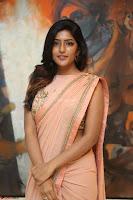 Eesha Rebba in beautiful peach saree at Darshakudu pre release ~  Exclusive Celebrities Galleries 002.JPG