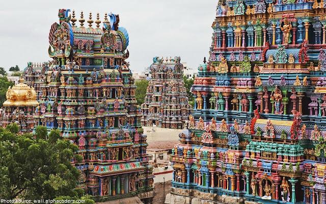 Meenakshi Amman Tapınağı/Hindistan-Madurai