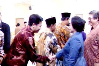 Sofian Tjandra Bersama Ibu Megawati