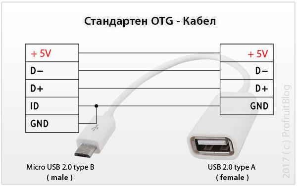 standart OTG cable