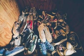 Koleksi beberapa Pasang Sepatu