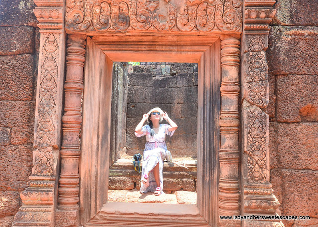 Lady in Banteay Srei