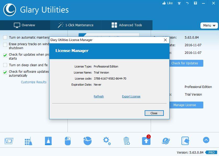 Saymoo007: Glary Utilities 5.67.0.88 + Serial Key [FREE] [Latest]