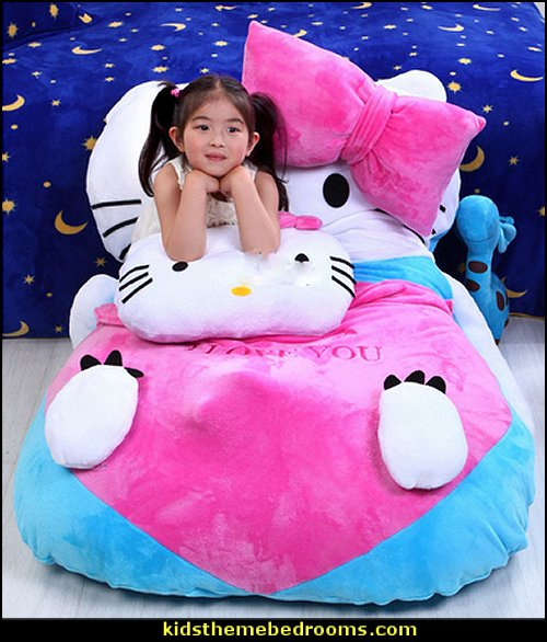 Hello Kitty Beanbag Giant Soft Plush Bed Carpet Sofa Tatami for Kids