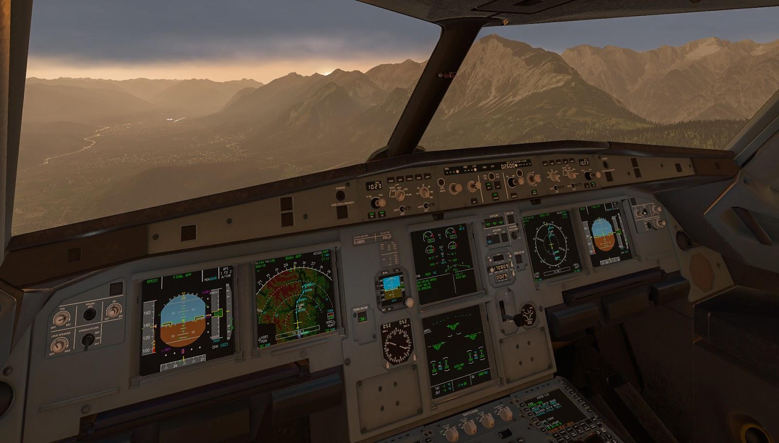 Flight Log - Toliss A319 - EDDM - LOWI - EDDM