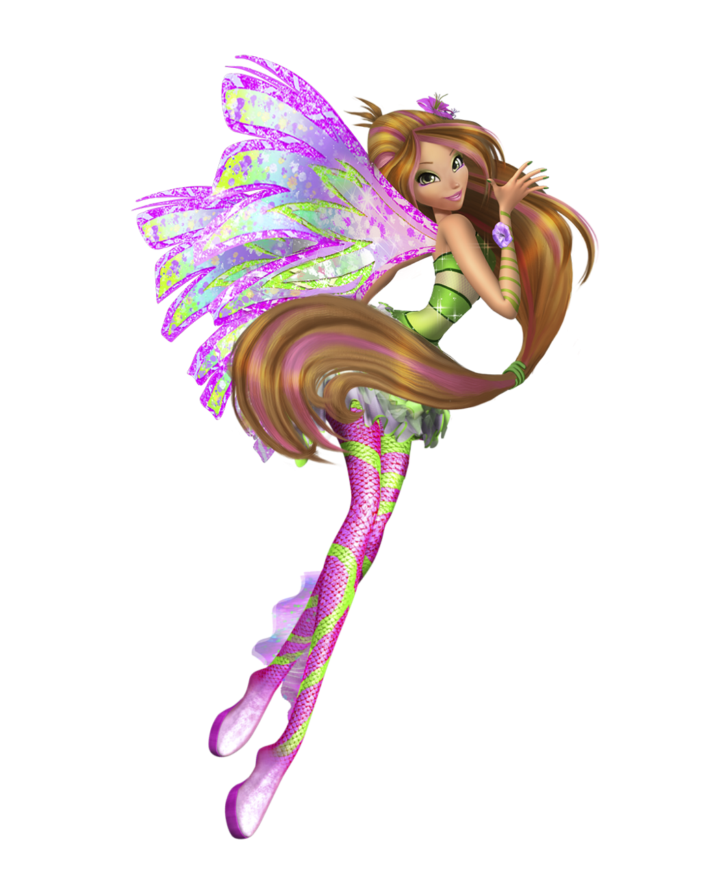 Winx Club Fairies: Flora's Sirenix in 3D