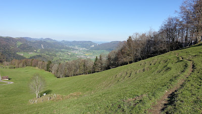 Trail zum Vorderen Brandberg