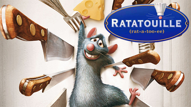 Ratatouille (2007) BRRip 720p Latino-Castellano-Ingles