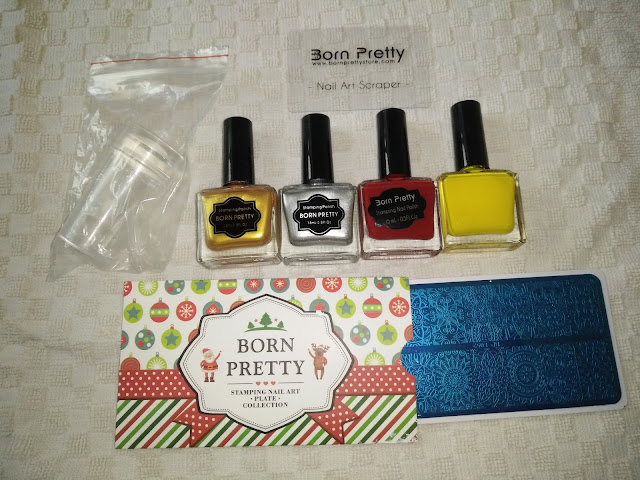 BORN PRETTY STORE STAMPING KIT