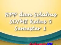 Download RPP dan Silabus SD/MI Kelas 5 Semester 1