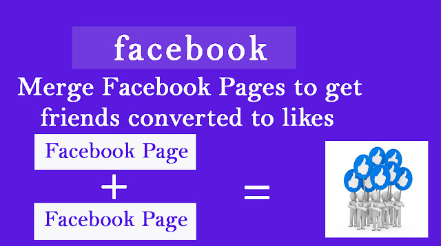 Pages Merge Trick For Facebook Pages