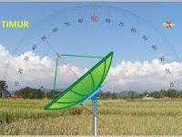 Artikel Dasar 5 Cara Setting Pengaturan Dasar Antena Telkom 4 Satelit Parabola Palapa D Manual (Tracking Menggabungkan Frekuensi TV) Terupdate 2020