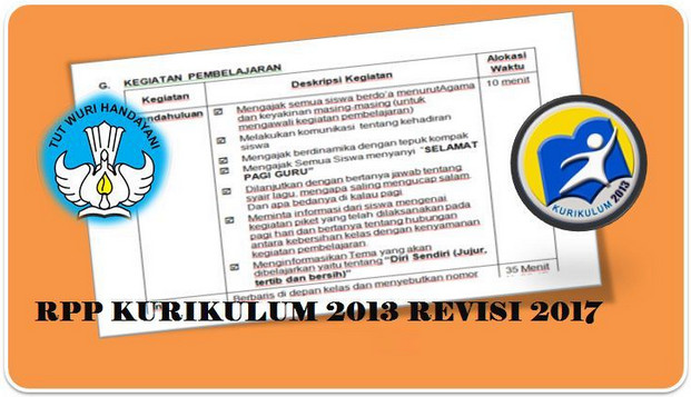 Download RPP K13 Revisi Tahun 2017