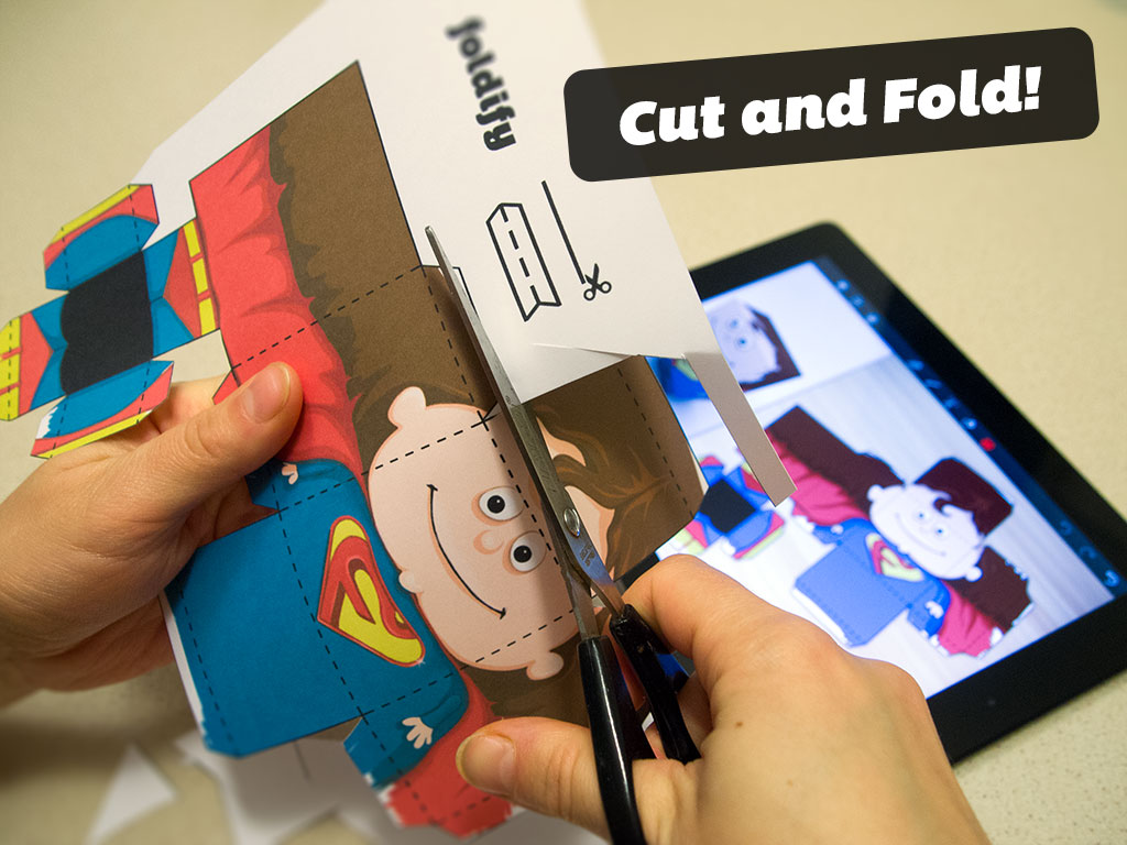 Internet's Best Secrets: Foldify - Cut and Fold your 2D Prints into 3D