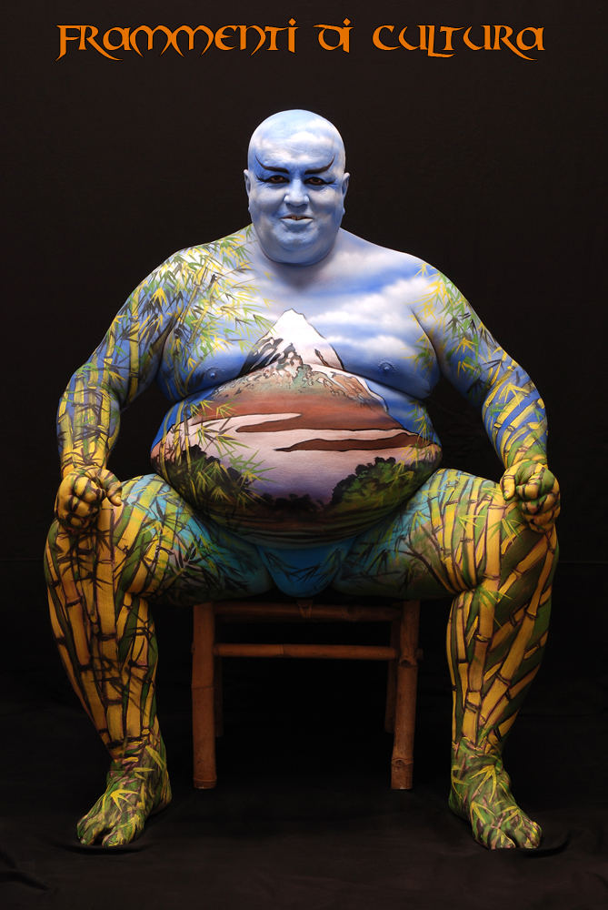Alex Flash Gordon Body Art Body Painting
